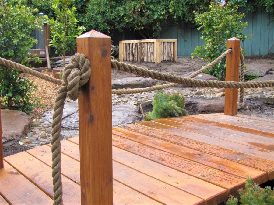 Bridge rope