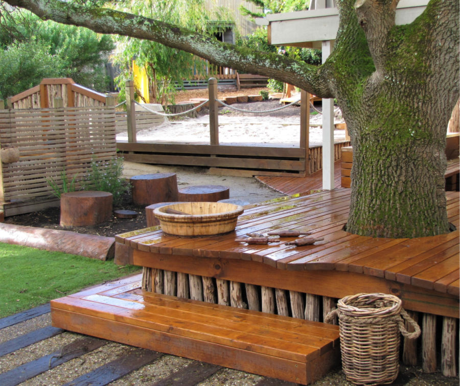 Decking and baskets