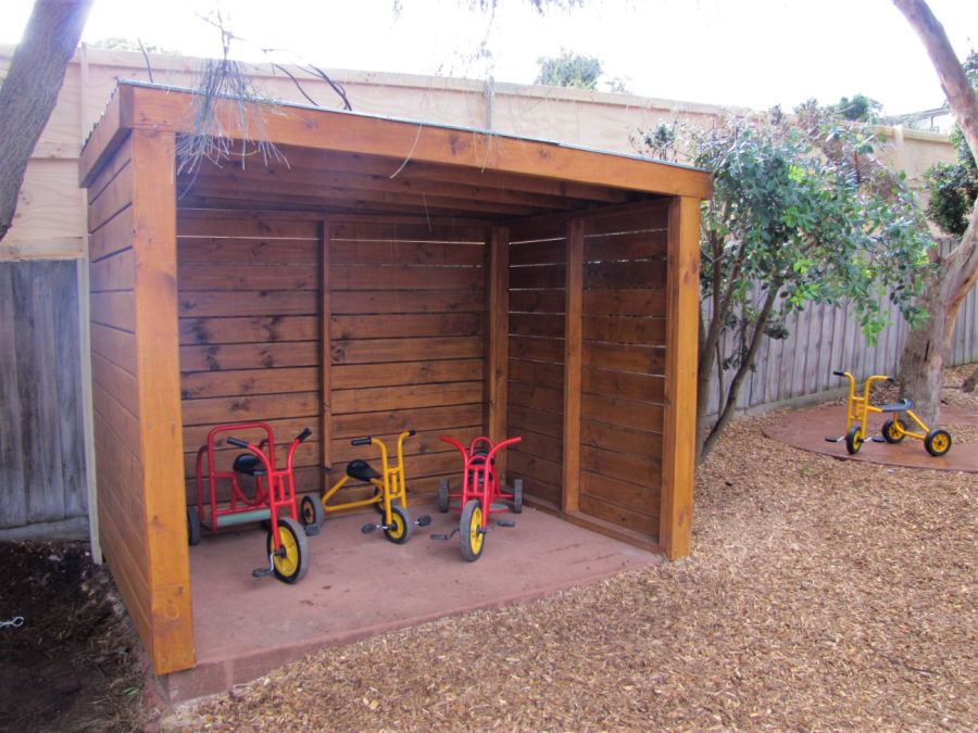 Tricycle shed