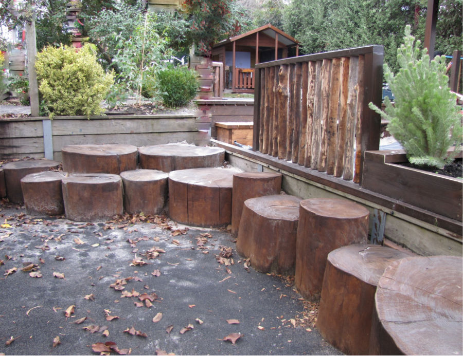 logs to sit on