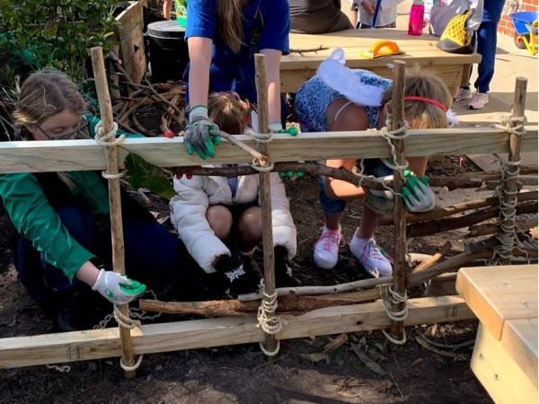project based learning fence